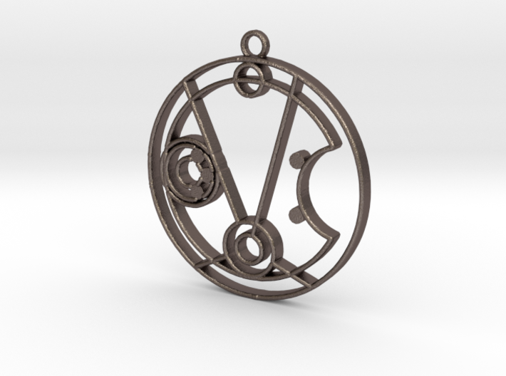 Michelle / Mishelle - Necklace 3d printed