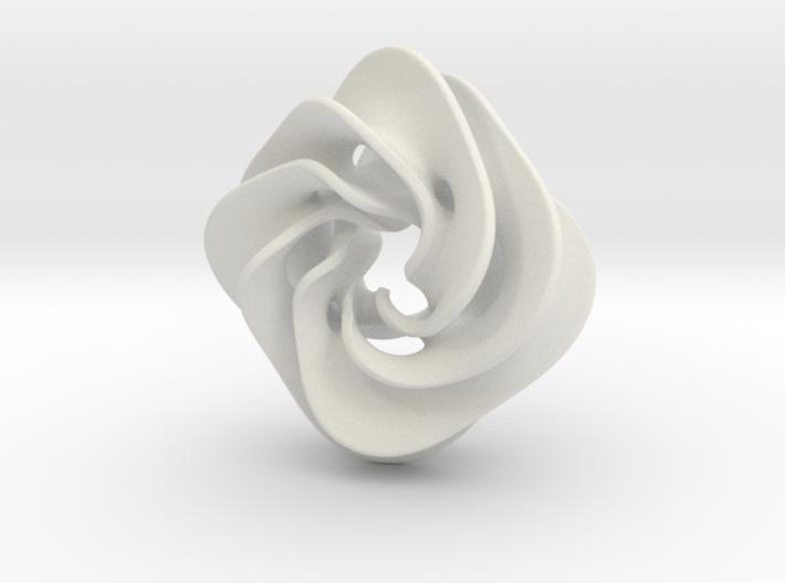 Scherk Pendant II 3d printed