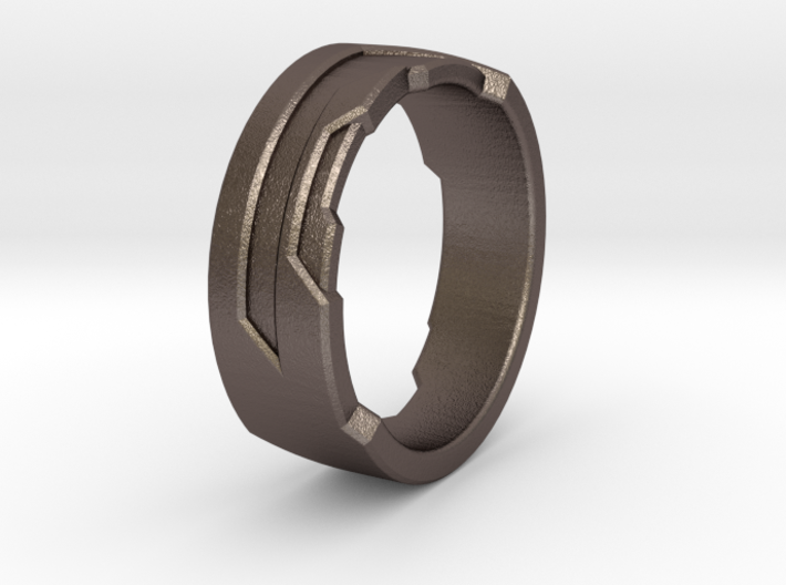 Ring Size F 3d printed