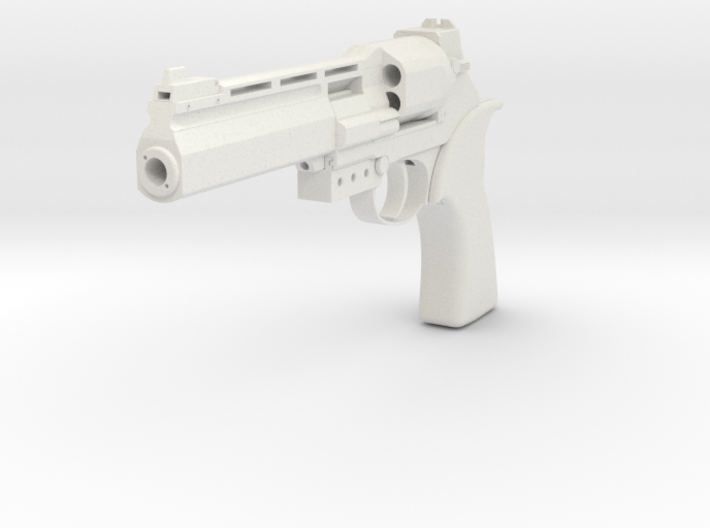 Mateba 6 Unica 3d printed