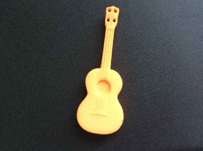 Small Ukelele 3d printed