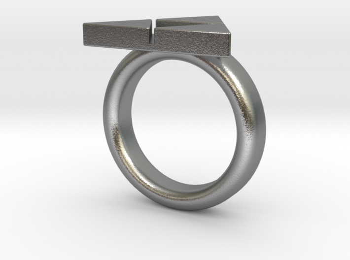 Triforce Ring - Zelda size 8(other sizes just ask) 3d printed