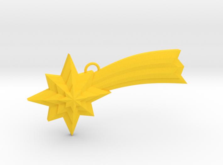 Ornament, Shooting Star 02 3d printed