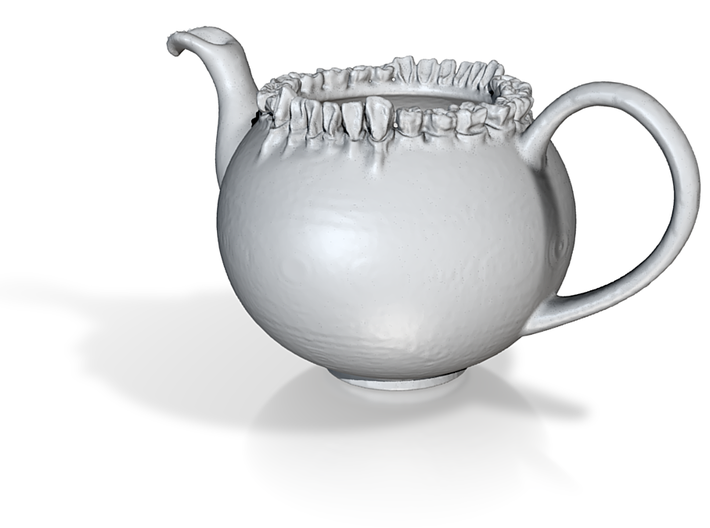 TeethTeapotReduced 3d printed