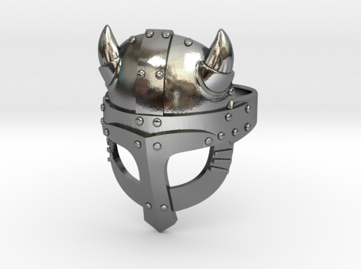 Viking Ring 3d printed