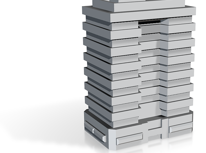 Stackable Tower Block 4 3d printed