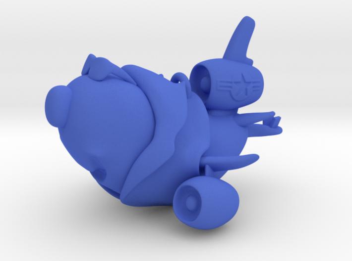 """Air Force Cartoon Plane Ornament (4"""") 3d printed"""