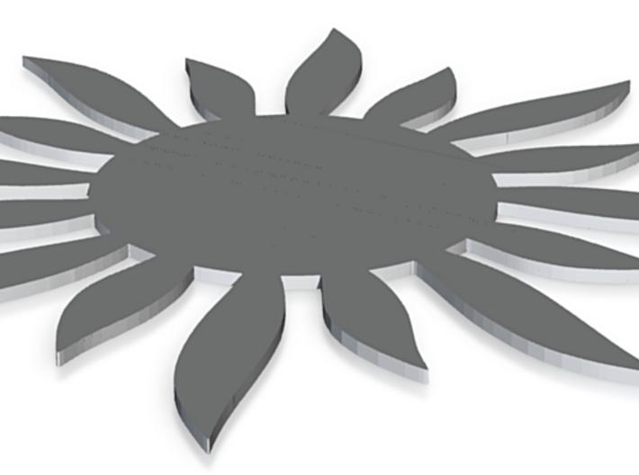 Sun Soap 6 3d printed