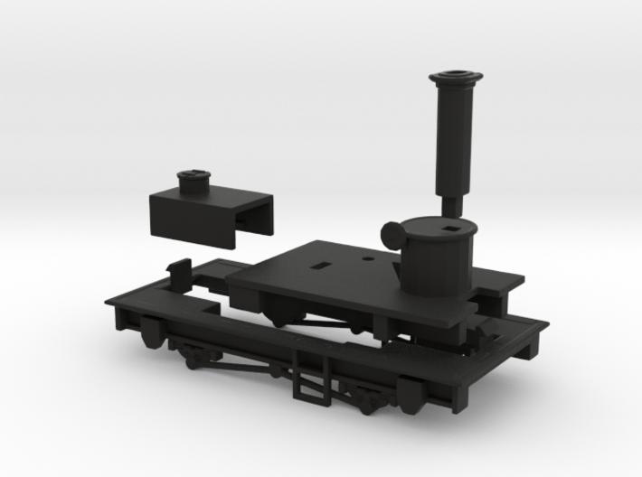 009 Sentinel - Parts 1, 5, 6 & 8 3d printed
