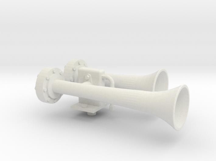 "1.5"" scale nathan air horn 3d printed"