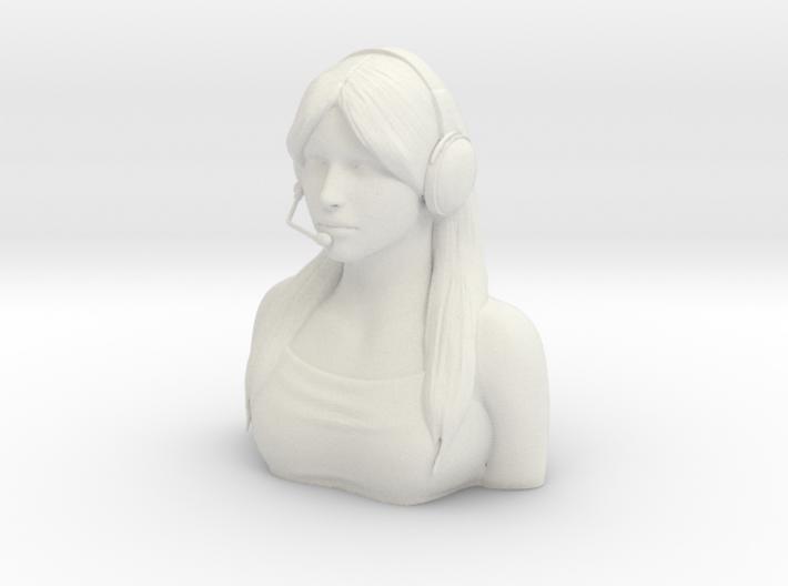 Female Pilot Figure 1/4 3d printed