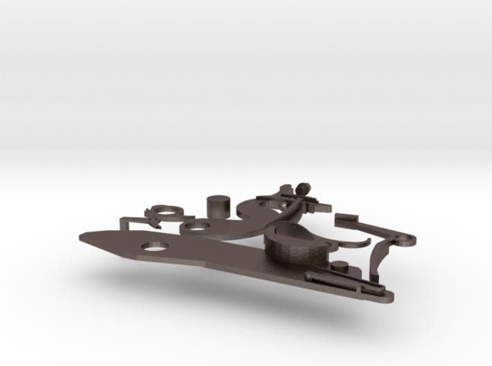 Flintlock Disassembled 3d printed