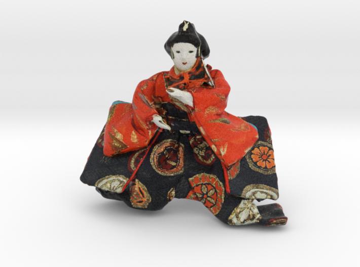 The Japanese Hina Doll 3d printed