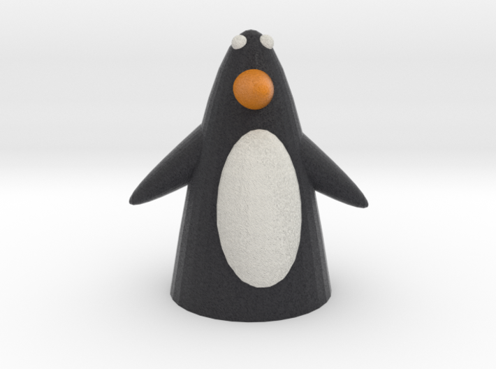 Penguin with wings 3d printed