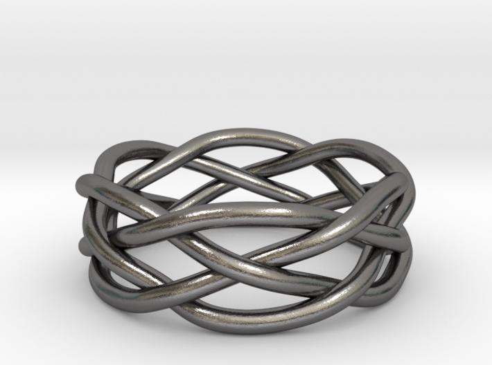 Dreamweaver Ring (Size 11) 3d printed