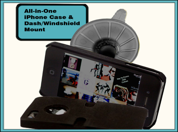 new product 6a2fa 9b923 iPhone 6+/6 PLUS Dash/Windshield Mountable Case