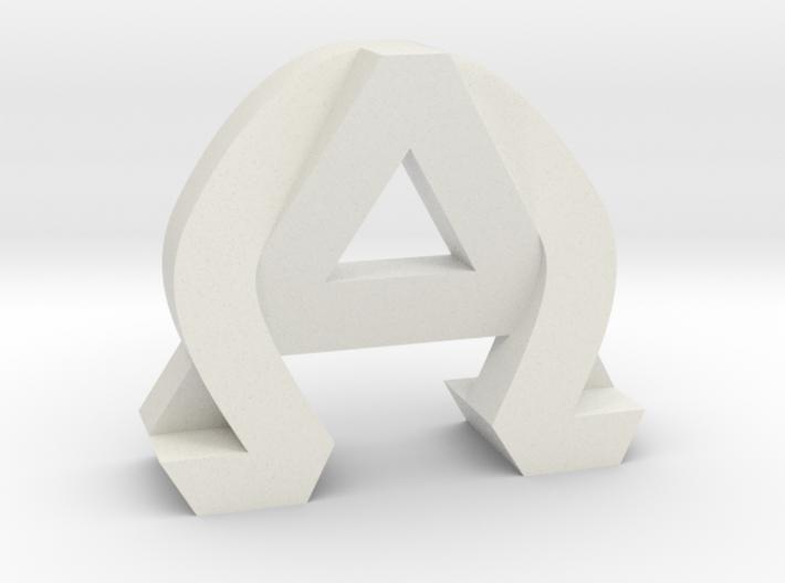 AlphaOmega (Solid) 3d printed