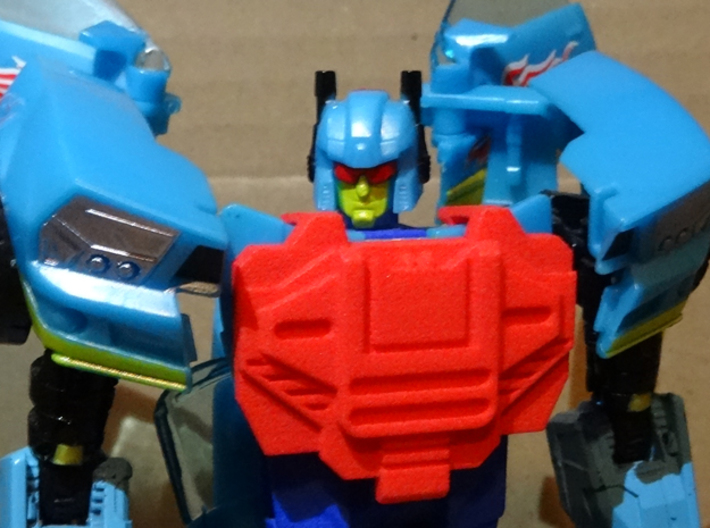 TFCC Carzap - Add-On Chestplate 3d printed