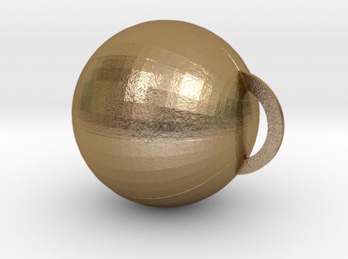 BASKET BALL (Pendant or Earring) 3d printed