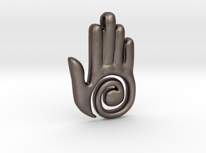 Healer's Hand Charm 3d printed