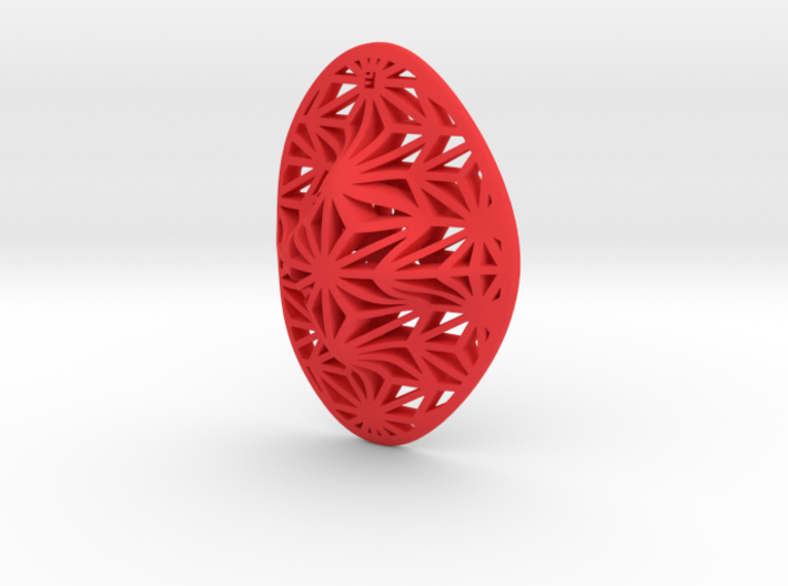 """Asanoha"", Self-Massage Tool 3d printed"
