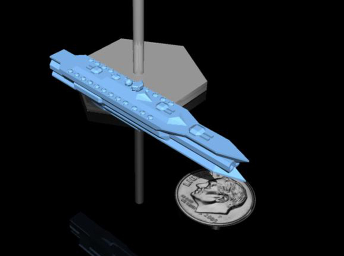 NuBlazers Svenish Battleship - Fleetscale 3d printed