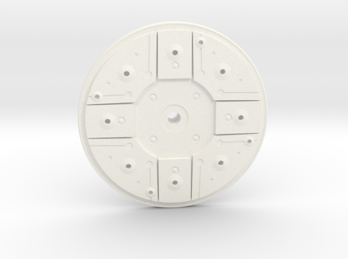 B Wing Right Side Disk 3d printed