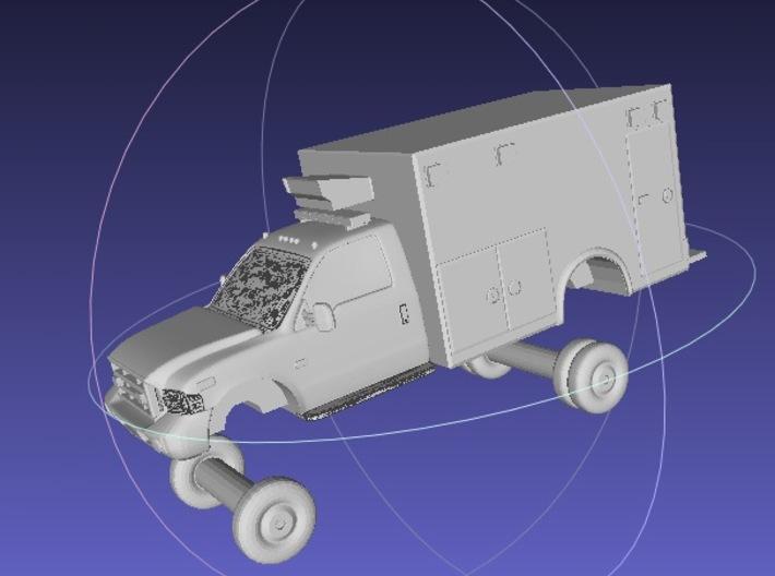1/144 US Ambulance 1 3d printed