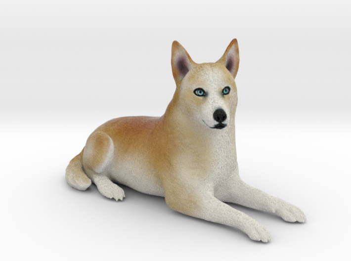 Custom Dog Figurine - Peaches 3d printed