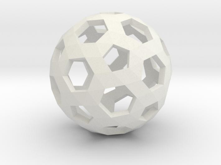 Football Holes Sphere 3d printed