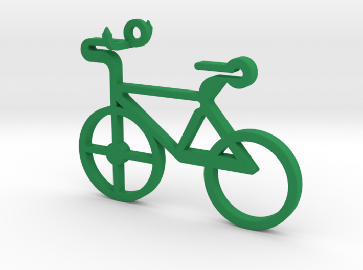 Bicycle Pendant 3d printed