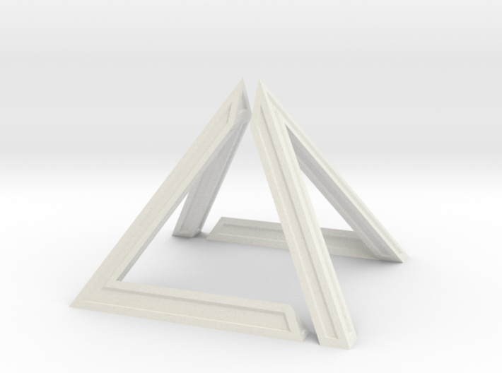 David Pyramid Thick V58.3 - 6cm 3d printed