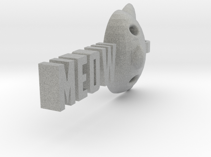 Meow pendant by it's a CYN! 3d printed