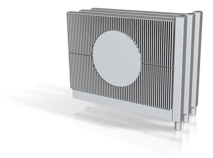 Beton Schallschutzwand mit Kreiselement 3x V1 1 st 3d printed