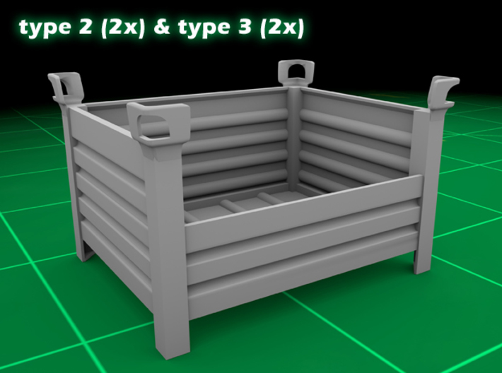 Stackable Container Set 3 3d printed
