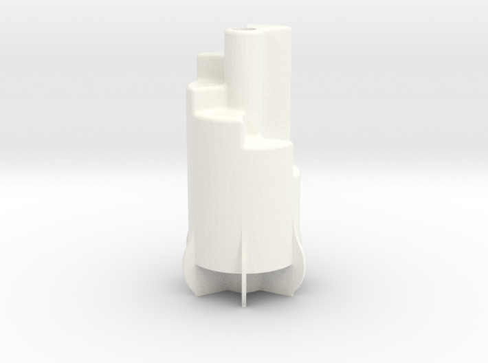 """3/4"""" Scale Nathan 6 Chime Whistle 3d printed"""