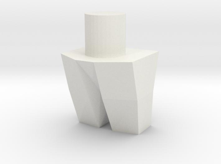 Rattrap's Really Ratlike Teeth 3d printed
