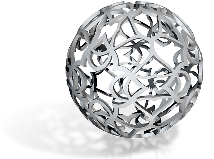 Pattern Ball 1 3d printed