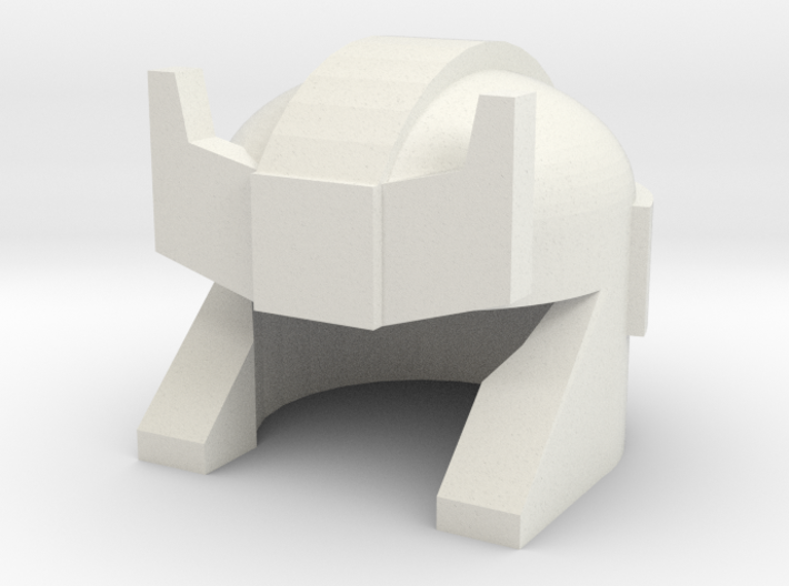 Robohelmet: Smoking Barricuda 3d printed