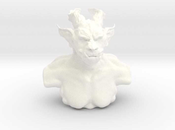 Troll bust 3d printed