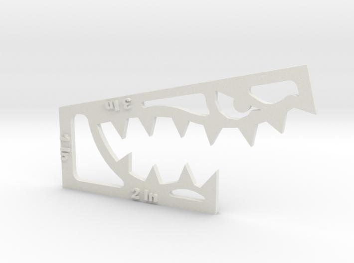 'Predator' Combination Melee Key 3d printed