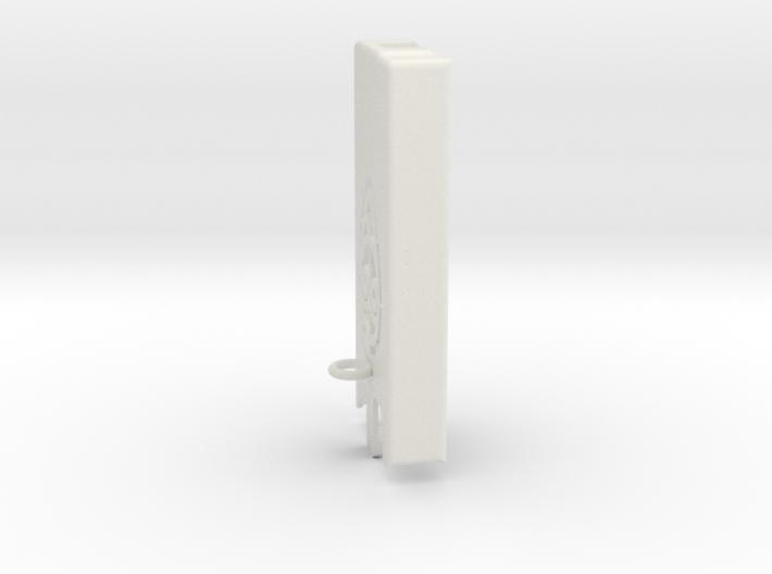 Dexcom Case w/Carabiner_Lanyard Hook SLIM 3d printed Dexcom case with carabiner or lanyard hook