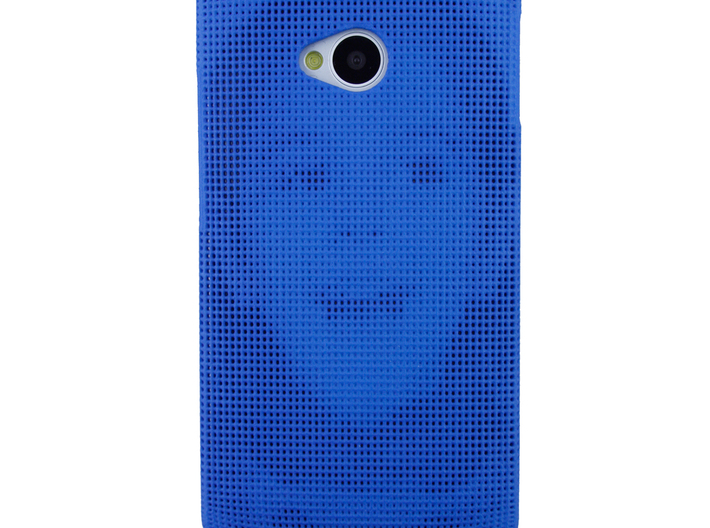 HTC One (M7) 3D Printed case - Portrait collection 3d printed Product photo with phone to show the effect.