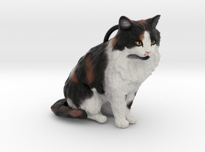 Custom Cat Figurine - Casey 3d printed