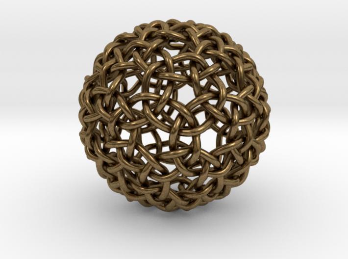 Weave Mesho Sphere 3d printed
