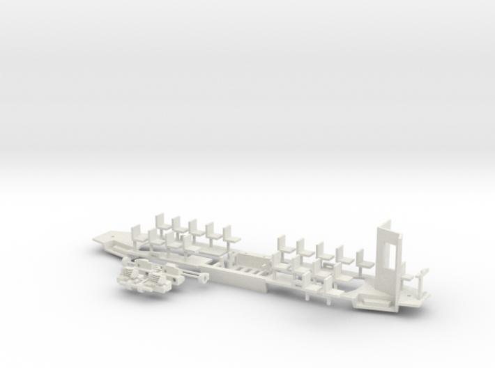 Konstal 105Na Fahrwerk Kabine klein 3d printed