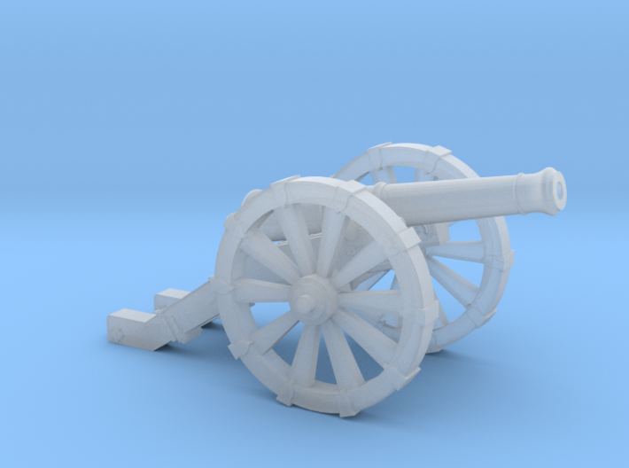 Mini Cannon French 4 Pound   3d printed