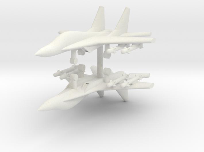 1/285 Mig-29M Fulcrum-E (x2) 3d printed