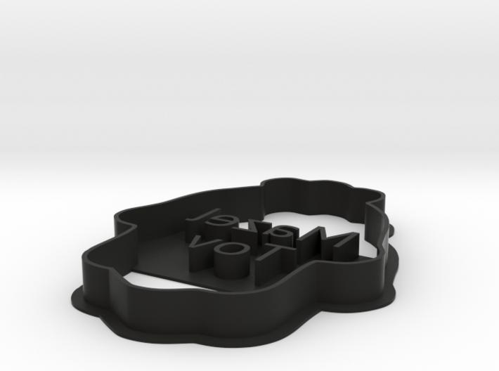 Mazel Tov Hamsa - Cookie cutter 3d printed