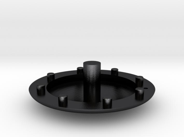 Apollo CM Wind Tunnel Heat Shield Solid 3d printed